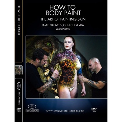 DVD John Cherevka & Jamie Grove : How to Body Paint - The Art of Painting Skin
