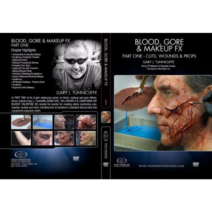 DVD Gary J. Tunnicliffe : Blood, Gore & Makeup FX - Part 1