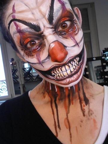 Tuto Comment Faire Un Maquillage Clown Halloween Facile