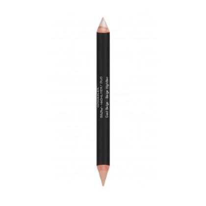 Crayon Correcteur et illuminateur Concealer Brow Highlighter Duo Cool beige 5.6g