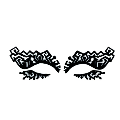 Autocollant Eye Mask Sticker 19