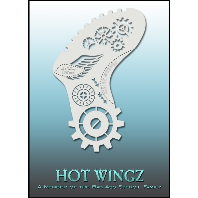 Pochoirs Hot Wings 8012