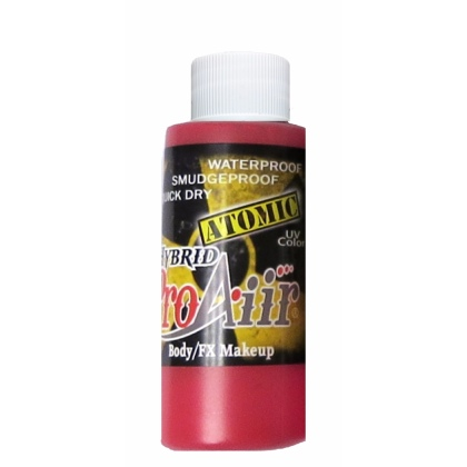 Fard fluide Waterproof FLUO pour aérographe ProAiir HYBRID 2oz (60 ml) - Radiation Red