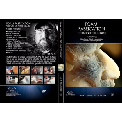 DVD Ted Haines : Foam Fabrication - Texturing Techniques