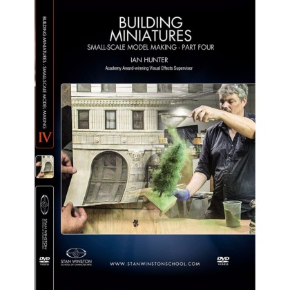 DVD Ian Hunter : Building Miniatures: Small-Scale Model Making - Part 4