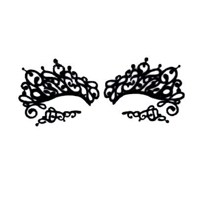 Autocollant Eye Mask Sticker 26