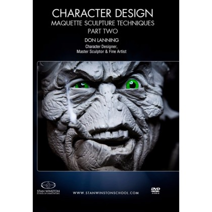 DVD Don Lanning : Character Design - Maquette Sculpture Techniques Part 2