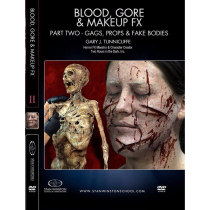 DVD Gary J. Tunnicliffe : Blood, Gore & Makeup FX - Part 2