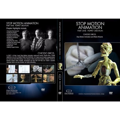 DVD Chiodo Bros. : Stop Motion Animation Part 3 - Camera, Lighting & Software