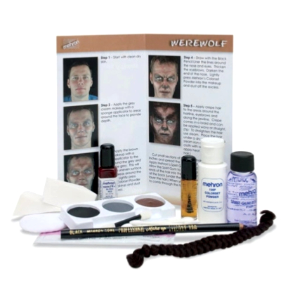 Kit de maquillage Loup Garou Character Makeup Kit Werewolf