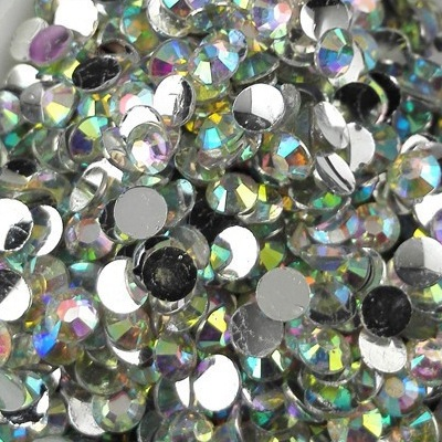 Strass 3mm - 10 000 pièces - Multiple Facets Clear Magic