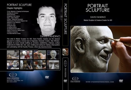DVD Davis Fandino : Portrait Sculpture