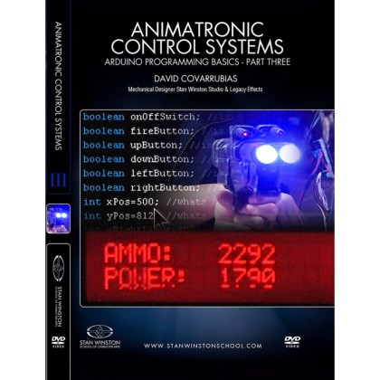DVD David Covarrubias : Animatronic Control Systems - Arduino Programming Basics - Part 3