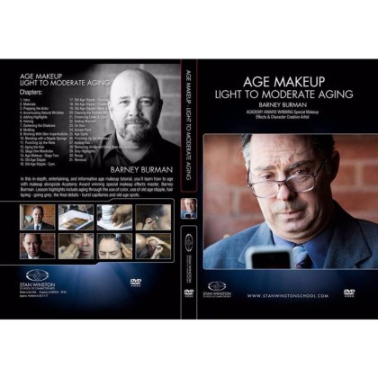 DVD Barney Burman : Age Makeup - Light To Moderate Aging