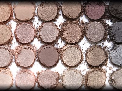 Pallettes de maquillage