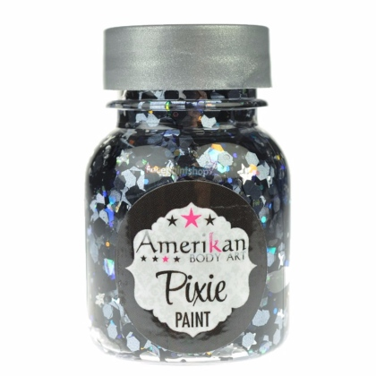 Paillettes Pixie Paint Noir ROCK STAR 1oz (30ml)