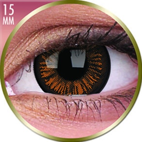 Lentilles Big Eyes 15mm - 3 mois - Charming Brown