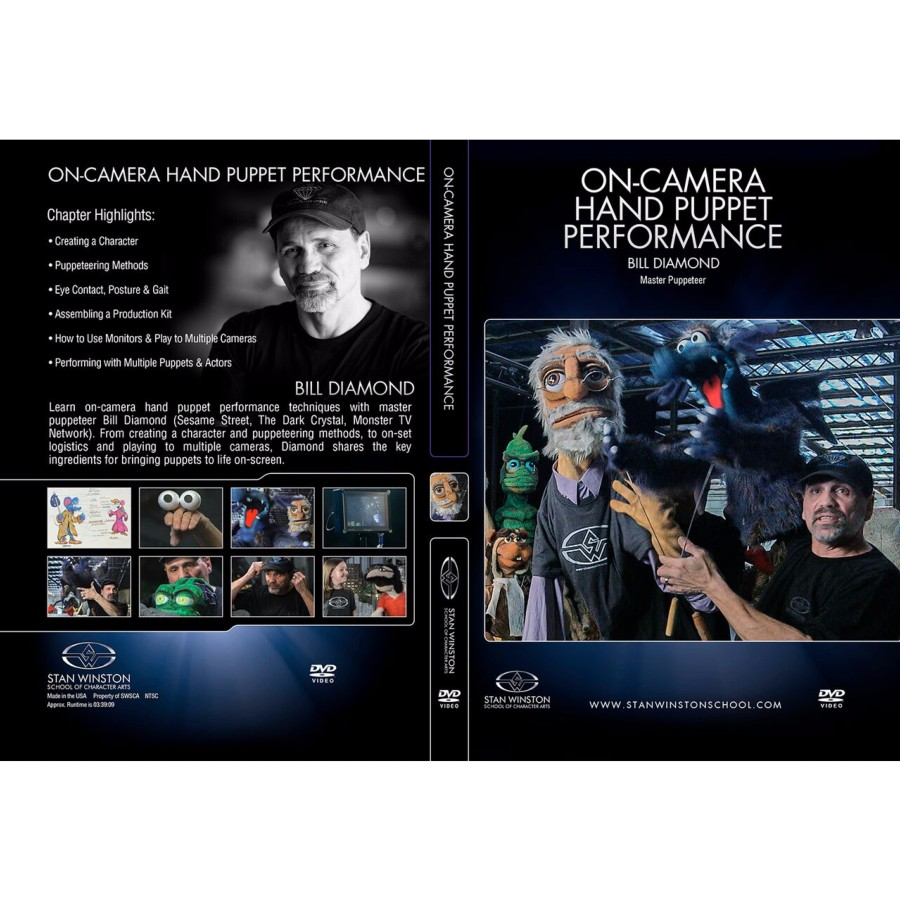 DVD Bill Diamond : On-Camera Hand Puppet Performance