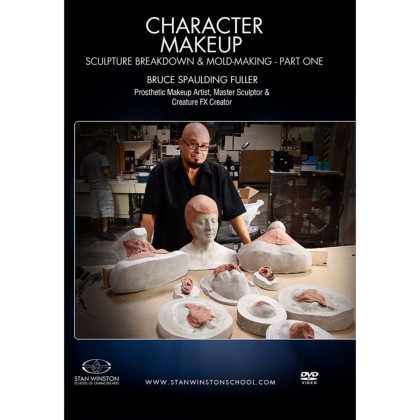 DVD Bruce Spaulding Fuller : Character Makeup - Sculpture Breakdown & Molding Part 1