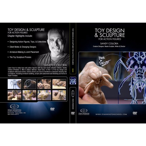 DVD Sandy Collora : Toy Design & Sculpture for Action Figures & Collectibles - Part 1