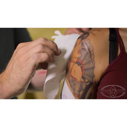 DVD Christien Tinsley : Tattoo Makeup A-Z - Cover, Create & Apply